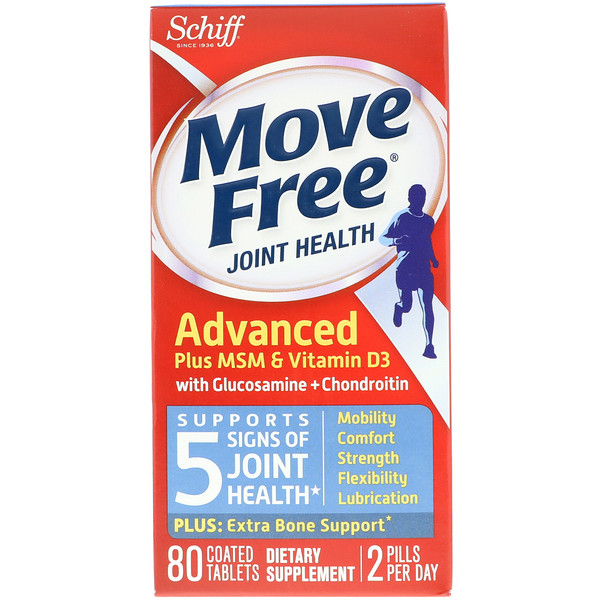 Move Free, Joint Health, 80 Coated Tablets