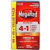 Schiff, MegaRed, Advanced 4 In 1, 500 mg, 80 Softgels