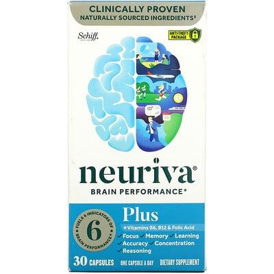 Schiff Neuriva Brain Performance Plus, 30 Capsules