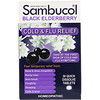 Sambucol, Alivio de gripe & resfrío con baya de saúco negra, 30 comprimidos de rápida disolución
