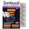 Sambucol, капсулы черной бузины с комплексом Advanced Immune, витаминомC и цинком, 30капсул