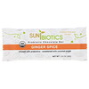 Sunbiotics, Organic, Probiotic Chocolate Bar, Ginger Spice, 1.25 oz (35 g)