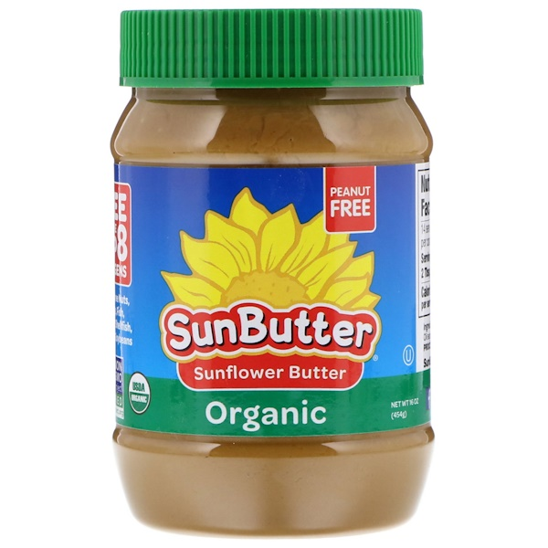 SunButter, Organic Sunflower Butter, 16 oz (454 g) (Discontinued Item)