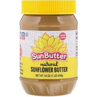 SunButter, Natural Sunflower Butter, 16 oz (454 g)