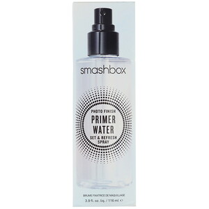 Smashbox, Photo Finish Primer Water, Set & Refresh Spray, 3.9 fl oz (116 ml) отзывы