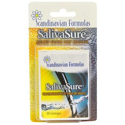Купить Scandinavian Formulas Скандинавская формула против сухости во рту SalivaSure, 90 леденцов