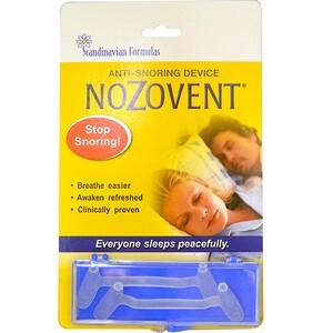 Скандинавиан Формулас, NoZovent Anti-Snoring Device, 2 Medium Size Breathing Devices отзывы покупателей