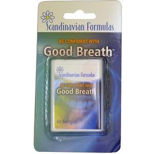 Скандинавиан Формулас, Good Breath, 60 Softgels отзывы покупателей