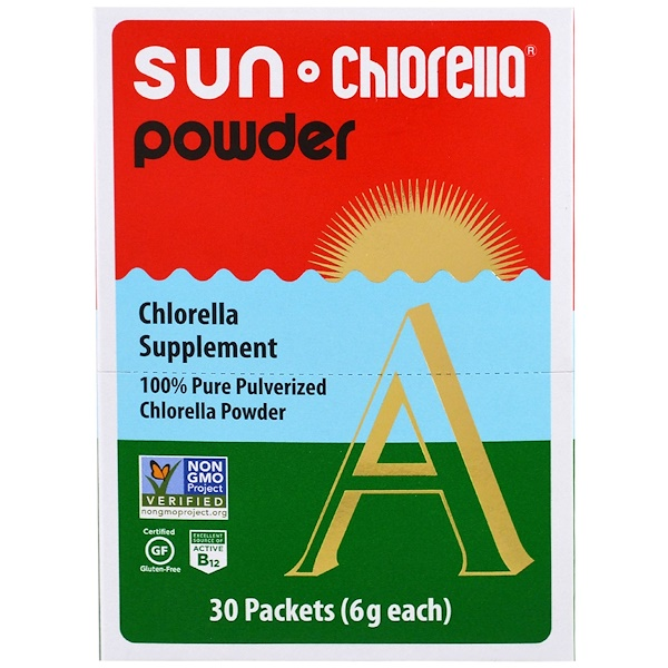 Sun Chlorella, 太陽小球藻粉,30包,每包6克