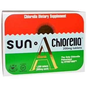 Сан Клорелла, Sun Chlorella A, 200 mg, 1,500 Tablets отзывы