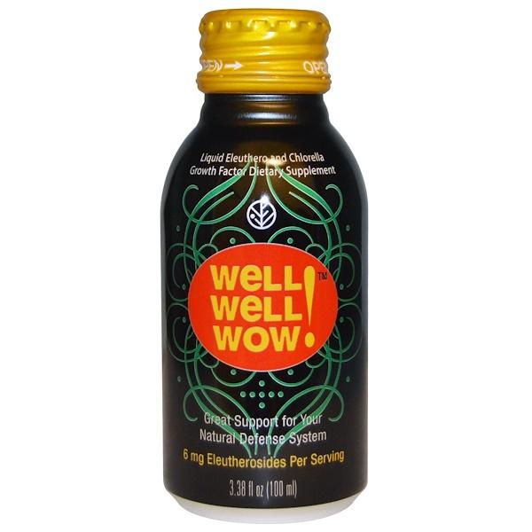 Sun Chlorella, Well Well Wow!, 3.38 fl oz (100 ml)