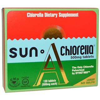 Sun Chlorella, Sun Chlorella A, 500 мг, 120 таблеток