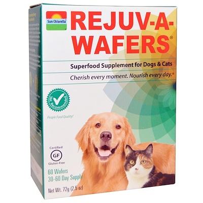 Купить Восстанавливающие вафли, суперпродукт для собак и кошек, 60 вафель