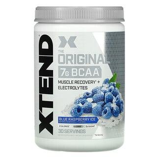 Xtend, The Original 7G BCAA, Blue Raspberry Ice, 14.8 oz (420 g)