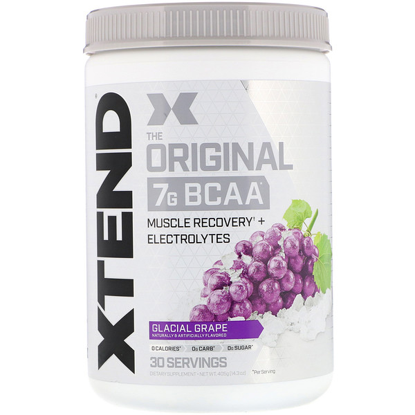The Original 7G BCAA, Glacial Grape, 14.3 oz (405 g)