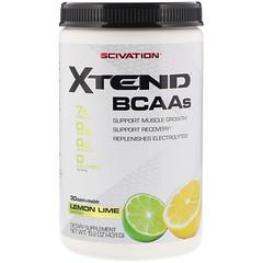 Scivation, Xtend、BCAA、レモンライム、15.2 オンス (431 g)