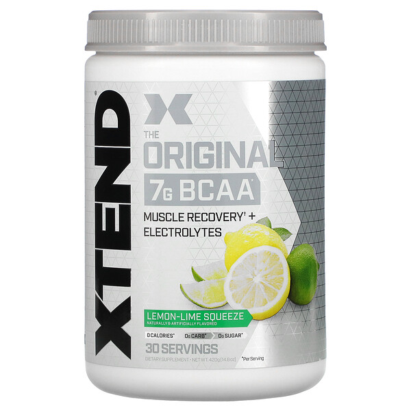 Xtend, The Original, Lemon-Lime Squeeze, 14.8 oz (420 g)