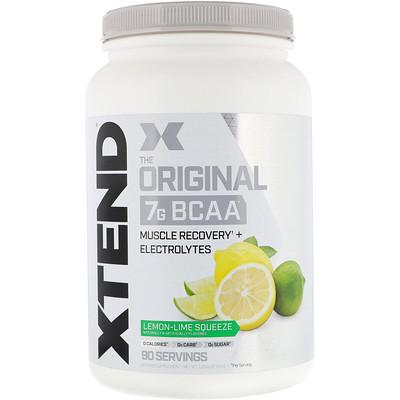 Фото - Xtend, The Original, выжатый лимон-лайм, 2,78 фунта (1,26 кг) xtend the original сногсшибательный фруктовый пунш 2 68 фунта 1 22 кг