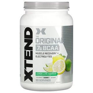 Xtend, The Original 7G BCAA, Lemon-Lime Squeeze, 2.78 lb (1.26 kg)