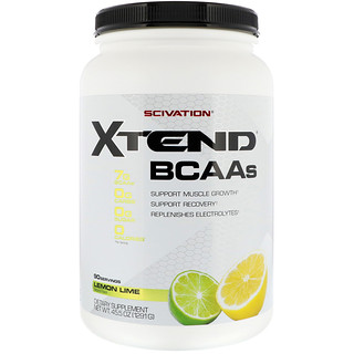 Scivation, إكستند، BCAAs، ليمون ليم، 45.5 أونصة (1291 جم)