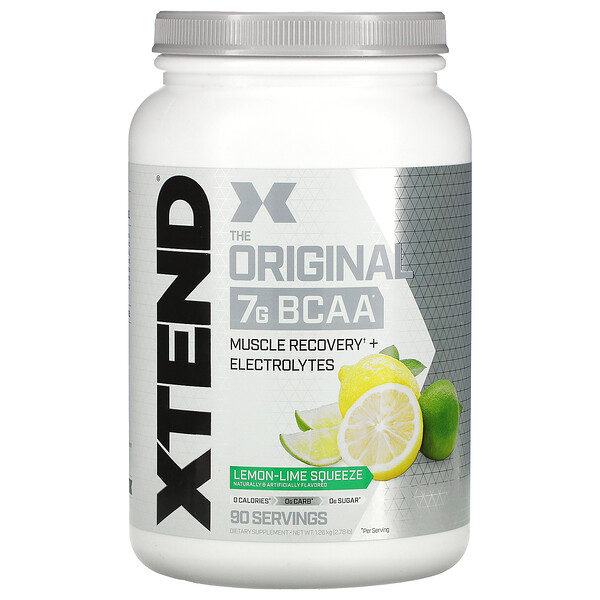 The Original 7G BCAA, Lemon-Lime Squeeze, 2.78 lb (1.26 kg)