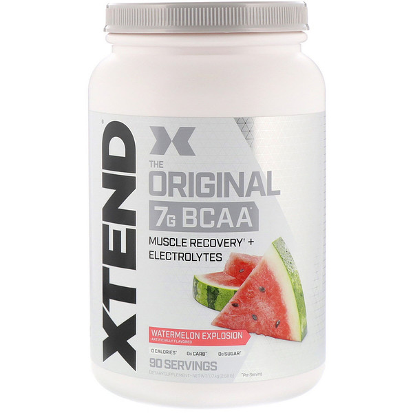 The Original 7G BCAA, Watermelon Explosion, 2.58 lb (1.17 kg)
