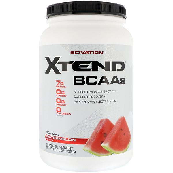 Scivation, Xtend, The Original 7G BCAA, Watermelon Explosion, 2.58 lb (1.17 kg)