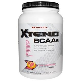 Scivation, Xtend, Intra-Workout Catalyst, Pink Lemonade, 45.0 oz (1278 g)