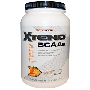 Xtend, Xtend, BCAAs, Orange, 45.0 oz (1276 g) отзывы