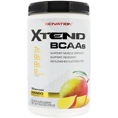 Scivation, Xtend, BCAAs, Mango, 14.6 oz (415 g)
