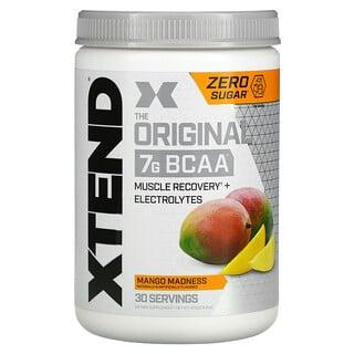 Xtend, The Original, 7г аминокислот с разветвленной цепью (BCAA), со вкусом манго, 420г (14,8унции)