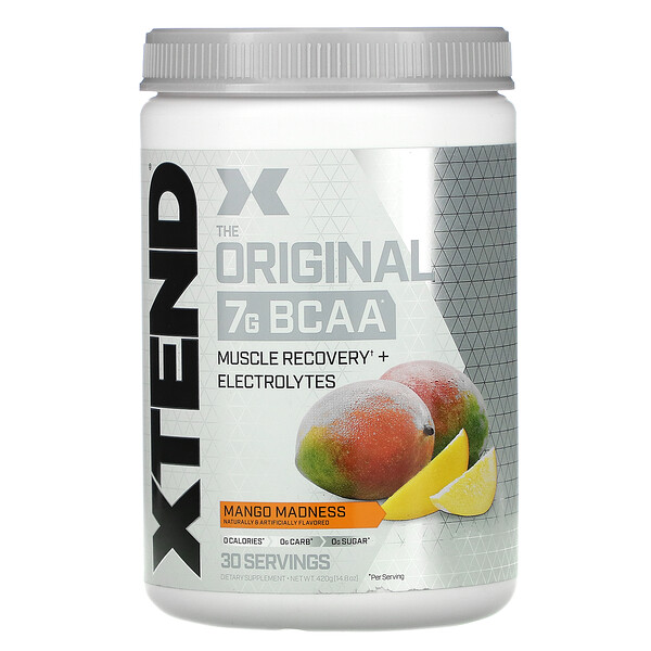 The Original 7G BCAA, Mango Madness, 14.8 oz (420 g)