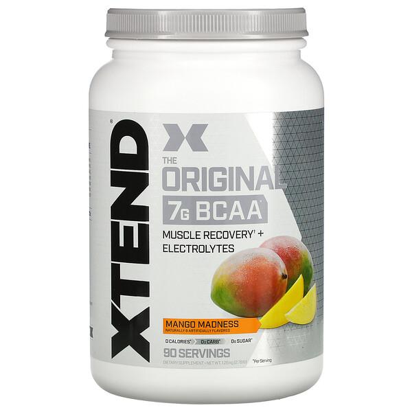 Scivation, Xtend, The Original 7G BCAA, Mango Madness, 2.78 lb (1.26 kg)