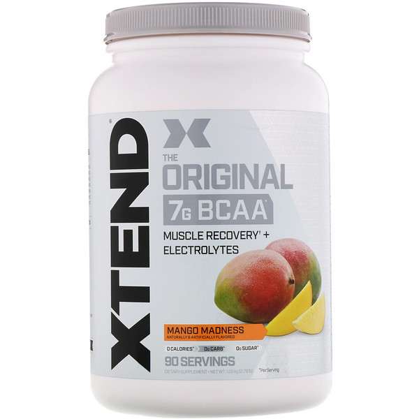 The Original 7G BCAA, Mango Madness, 2.78 lb (1.26 kg)