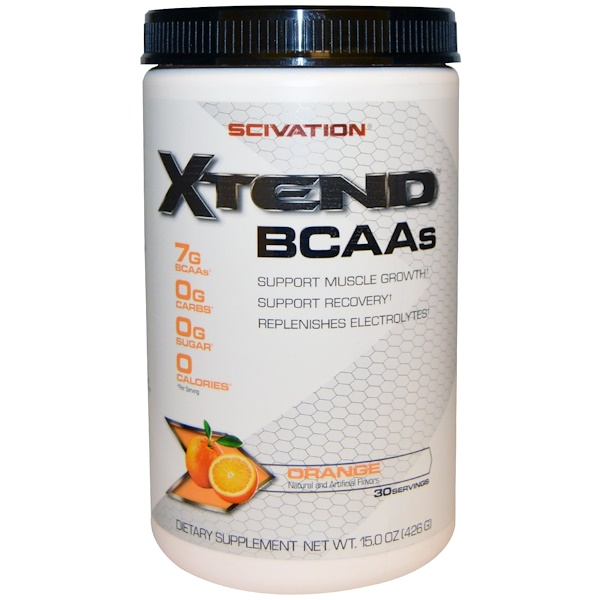 Scivation, Xtend, BCAAs, Orange, 15.0 oz (426 g) (Discontinued Item)