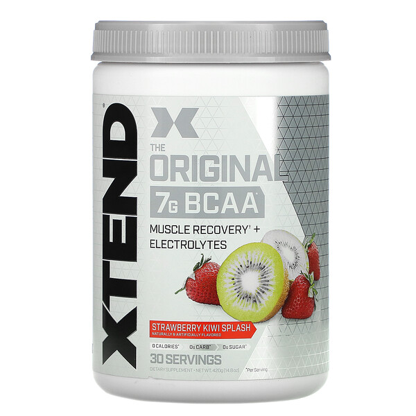 The Original 7G BCAA, Strawberry Kiwi Splash, 14.8 oz (420 g)