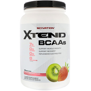 Scivation, Xtend, BCAAs, Strawberry Kiwi, 43.3 oz (1228 g)