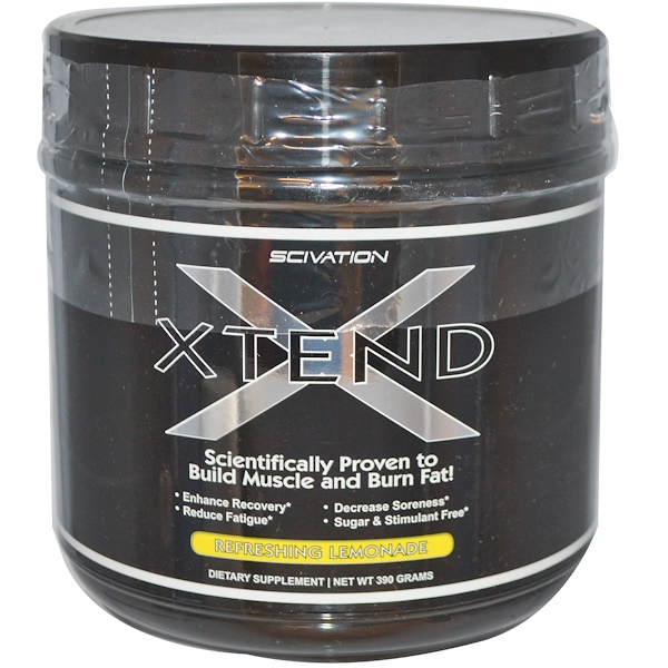 Scivation, Xtend, Refreshing Lemonade, 390 g (Discontinued Item)