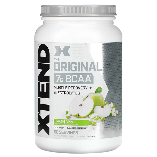 The Original 7G BCAA, Smash Apple, 2.78 lb (1.26 kg)