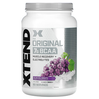 Xtend, The Original 7G BCAA, Glacial Grape, 2.68 lb (1.22 kg)