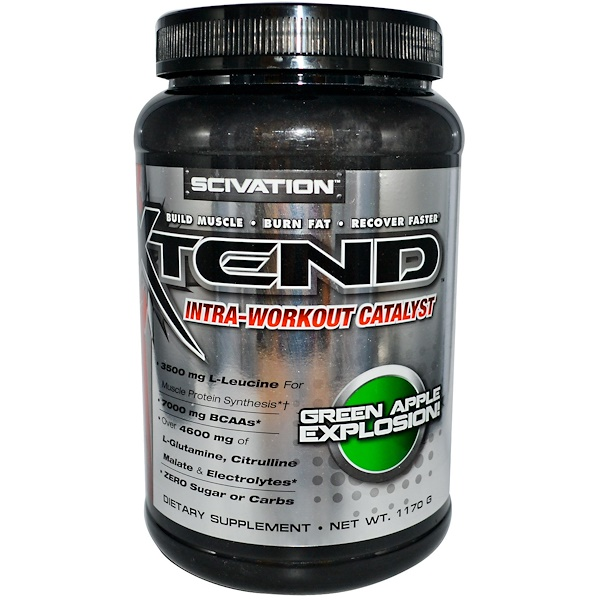 Xtend, Xtend, Intra-Workout Catalyst, Green Apple Explosion, 1170 g (Discontinued Item)