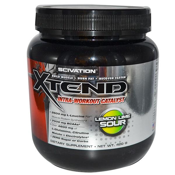 Xtend, Xtend, Intra-Workout Catalyst, Lemon Lime Sour, 420 g (Discontinued Item)