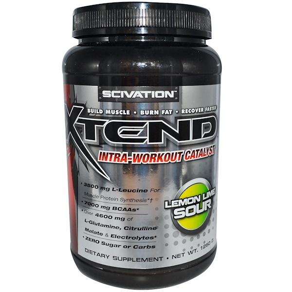 Scivation, Xtend, Тренировочный комплекс, Catalyst, кислый лимон, лайм 1260 г (Discontinued Item)