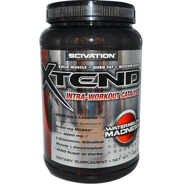 Scivation, Xtend, Intra-Workout Catalyst, Watermelon Madness!, 1125 g (Discontinued Item)