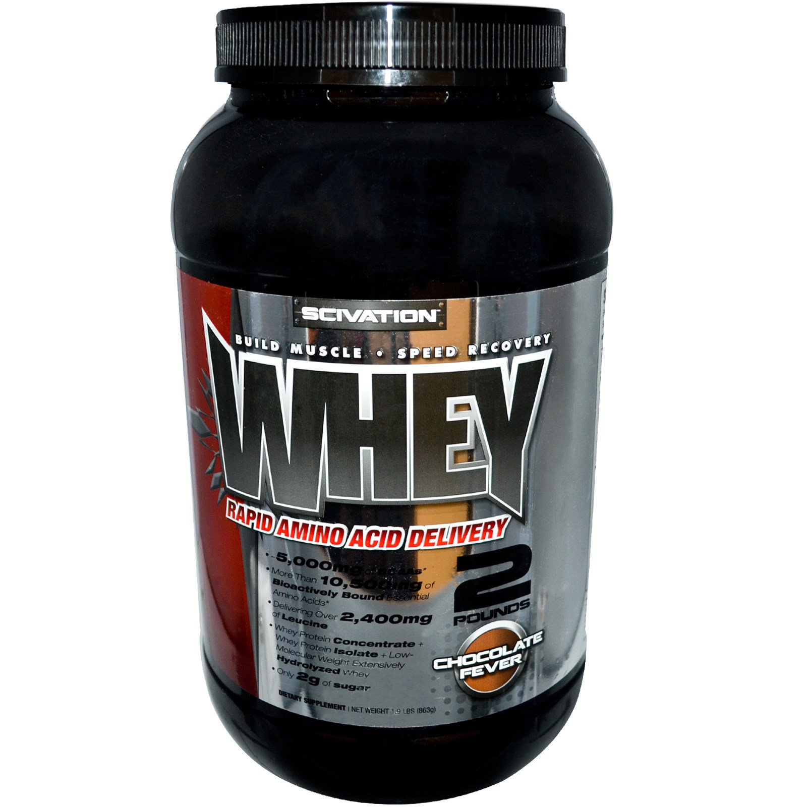 Scivation Whey Chocolate Fever 19 Lbs 863 G