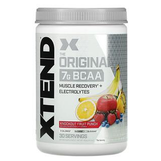 Xtend, The Original 7G BCAA, Knockout Fruit Punch, 14.3 oz (405 g)