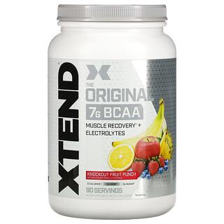 Xtend, The Original 7G BCAA, Knockout Fruit Punch, 2.68 lb (1.22 kg)