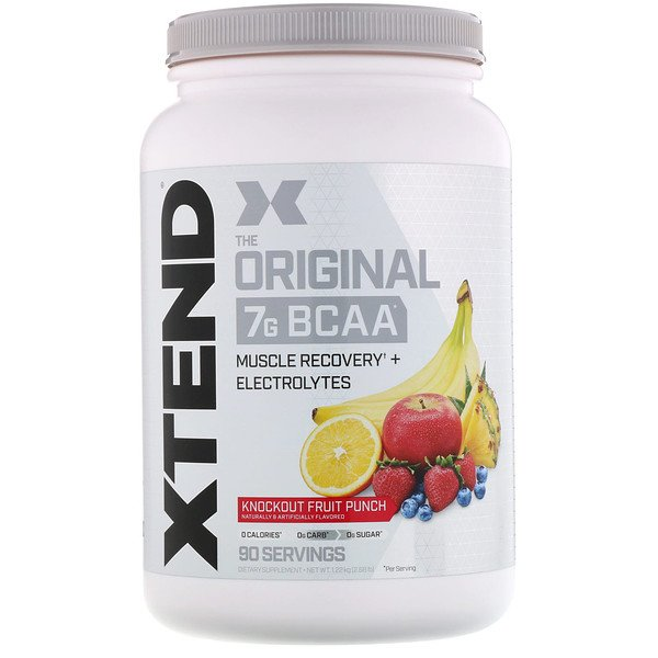 Xtend, The Original 7G BCAA, Knockout Fruit Punch, 2.68 lb (1.22 kg)