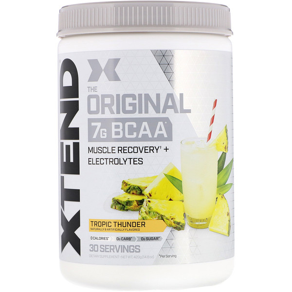 Scivation, Xtend, Original, Trovão Tropical, 14,8 oz (420 g)