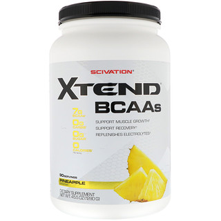 Scivation, Xtend, BCAAs, Pineapple, 45.5 oz (1290 g)